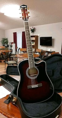 Ventura thin-line Acoustic-Electric guitar  V3VS Cleveland, 77327