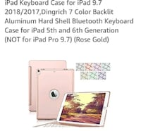 For sale iPad case with light up keyboard, charger Tucson, 85746