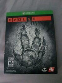 Xbox One evolve game North Vancouver, V7M 0C8