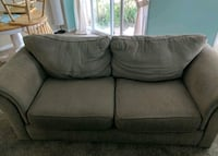 Brown fabric 2 seat sofa Barrie, L4M 4Z9