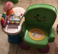 Children's musical interactive toy chair. Palmdale, 93550