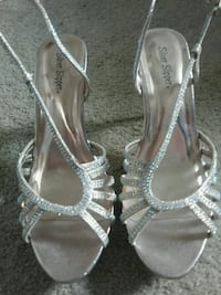 Sparkly shoes good for a wedding or prom Triangle, 22172