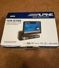 Brand new alpine indash tv deck Toronto, M8Y 3C4