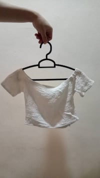 White off shoulder top 芽笼, 388641