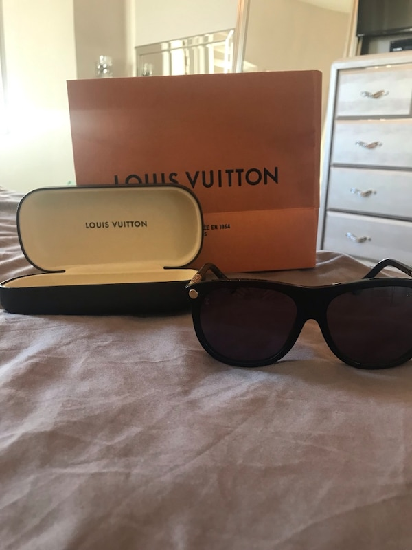 ce17f41215 Used Authentic Louis Vuitton sunglasses. Never used. Brand new. for sale in  King - letgo