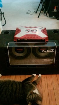 pioneer IMPP AND Sony xplode - amp/box/subwoofers  Centreville, 20121