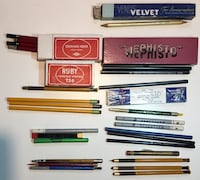 Assortment of vintage pencils and leads Burbank, 91506
