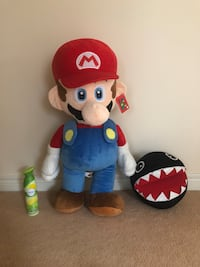 Mario and Chain Chomp stuffed toys - new with tags Markham, L6B 0L8