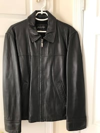 Black Leather coat for Men size M Vienna, 22180