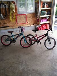 two black and red BMX bikes 655 km