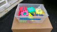 Foam puzzle pieces, numbers and letters, kindergar Virginia Beach, 23455