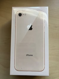 iPhone 8 64GB brand new in box rose gold Langley, V2Y 2N5