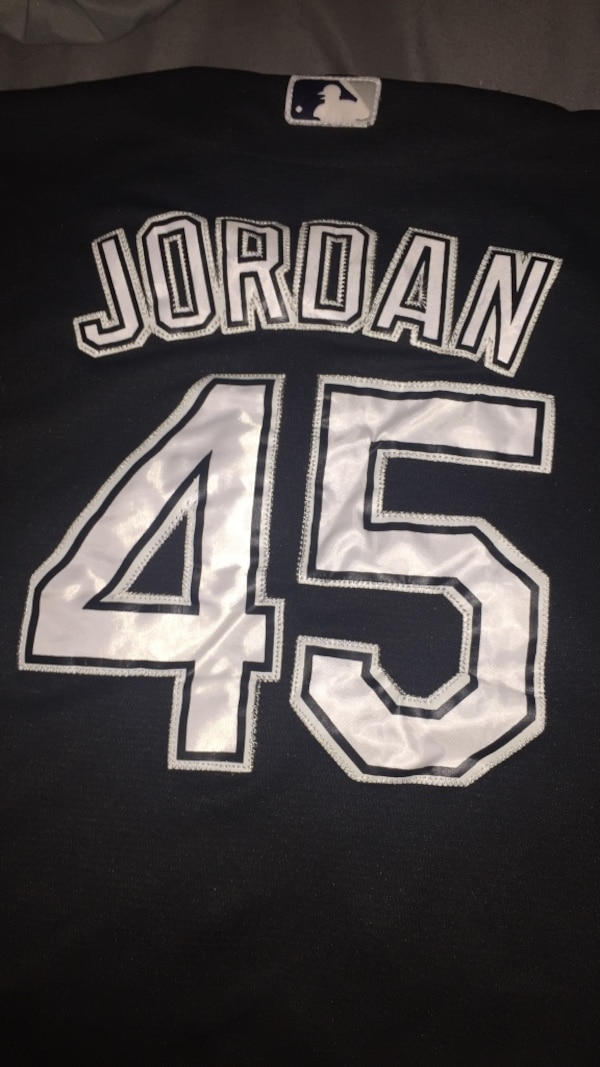 the best attitude ecf3e b9a15 MJ baseball jersey
