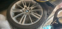 255/35R18 BMW oem M rims and tires