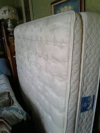 Queen size mattress box spring and frame  Langley Township, V4W 3H7