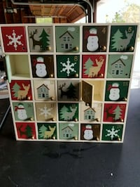 Christmas advent calendar Green Township, 07879