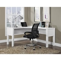 L Shaped Desk, white(chair & computer not included) ***4th of JULY Special!*** $129 Houston, 77092