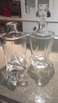 Real Crystal Decanters  St Albert, T8N 0S2