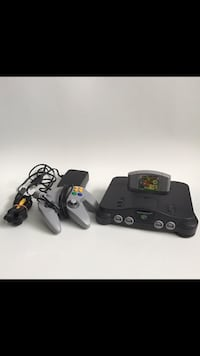 N64 with Mario 64 FREE DELIVERY Toronto, M3J 2L6