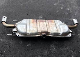 Used OEM muffler for Mazda3 hatchback