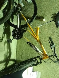 yellow and grey Pacific mountain bicycle Carlsbad, 92008