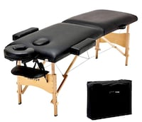 Brand new portable leather massage tattoo physical therapy facial table w carrying case San Diego, 92120