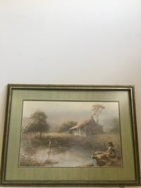 Framed Michael Charles Taylor painting Chattanooga, 37421