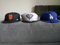 Brand New,  New Era Hats 7 and 1/4 Alexandria