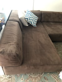 West Elm Tillary sectional sofa: 2 benches with backs  plus corner Washington, 20001
