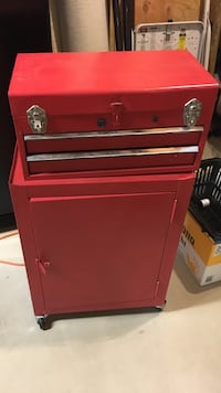 Child's Red tool chest