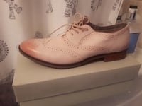 Hush puppies leather oxford size 10 brand new
