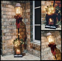 ON SALE New Christmas Tree Pot pole prelit decor artificial lamp post San Jose