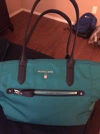 blue and black leather tote bag Las Vegas, 89148