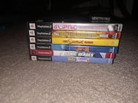 Sony PS4 game cases