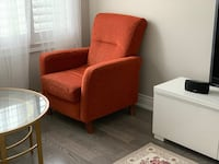 Accent chair, sofa and love seat. Vaughan, L6A 0M4