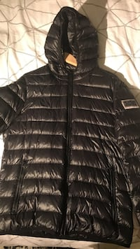 black zip-up bubble jacket London, N17 0AX