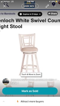 BRAND NEW COUNTER HEIGHT STOOLS SWIVEL wow