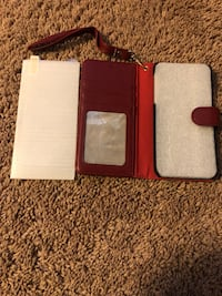 iPhone X/Xs XR wallet case & temporary glass Nashville, 37013