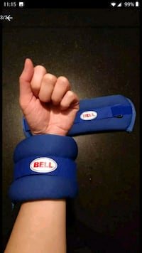 2 Bell One And A Half Pound Leg/Arm Weights