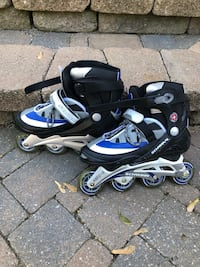 Men's size 9 in line skates  Oakville, L6L 5P1