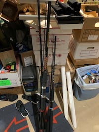 Fishing rods/reels - fresh and saltwater