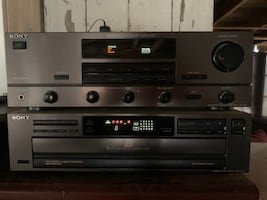 Sony Integrated Amplifier and CD player