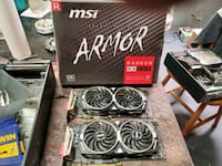 Msi rx580 8gb armour oc  Mount Olive Township, 07828