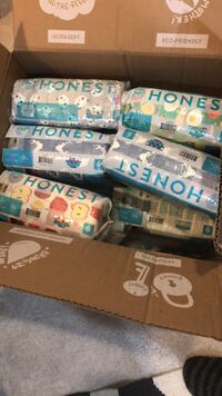 free honest company diapers size 6 - 10 packs of  18