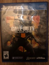 Ps4 call of duty black ops case Edmonton, T6L 6R3