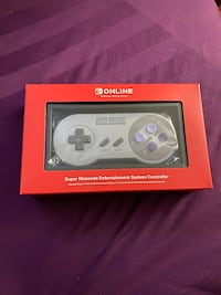 SNES nintendo switch controller new