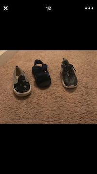 Pair of black nike basketball shoes Henrico, 23231