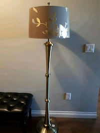 Gold and brown floor lamp Abbotsford, V2T 0A6