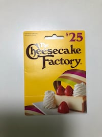 20 for $25 Cheesecake Factory Gift Card 375 mi