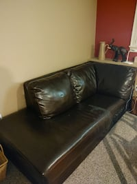 Free Sectional. Leather